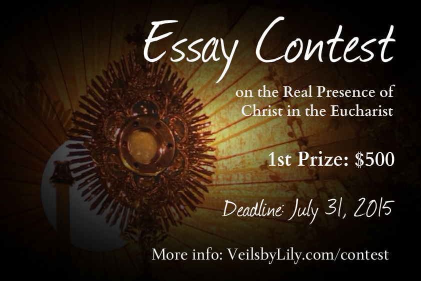 Win $500: Essay Contest on the Real Presence