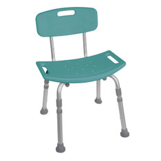 Teal Bathroom Safety Shower Tub Chair - 12202kdrt-1