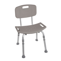 Grey Bathroom Safety Shower Tub Chair - rtl12202kdr