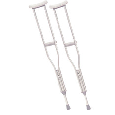 Pediatric Walking Crutches with Underarm Pad and Handgrip - 10416-1