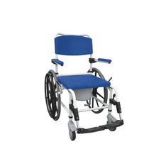 Aluminum Shower Commode Wheelchair - nrs185006
