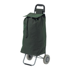 Green All Purpose Rolling Shopping Utility Cart - rtl8554