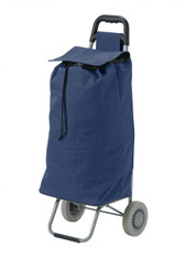 Blue All Purpose Rolling Shopping Utility Cart - rtl8555