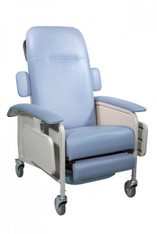 Clinical Care Blue Ridge Geri Chair Recliner - d577-br