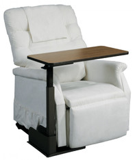 Seat Lift Chair Left Side Overbed Table - 13085ln