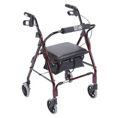 Mimi Lite Flame Red Rollator Walker - 543
