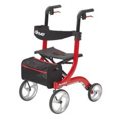 Nitro Euro Style Red Rollator Walker - rtl10266