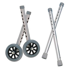 "Extended Height 5"" Walker Wheels and Legs Combo Pack - 10108wc"