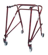 Adult Nimbo Rehab Lightweight Flame Red Posterior Posture Walker - ka 5200n