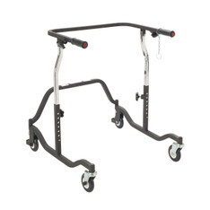 Adult Black Posterior Safety Roller - ce 1200 bk