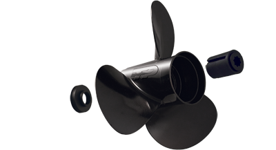 8 - 20 HP 2.5 inch gearcase aluminum propeller