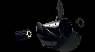 40 - 75 HP 3.5 inch gearcase aluminum propeller