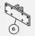 CMC PT-35 bottom clevis bracket