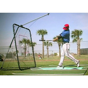 SwingAway Pro XXL Hitting System Side View