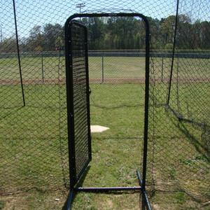 Batting Cage Door Open Outside