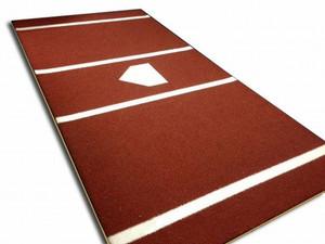 Home Plate Mat 7x12 Deluxe Nylon - Terracotta