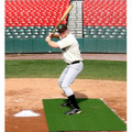 Batting Stance Artificial Turf Mat 4x6 Nylon