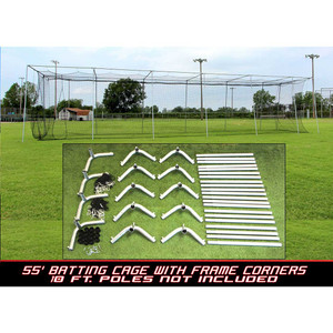Cimarron 55x12x12 #24 Batting Cage and Frame Corners