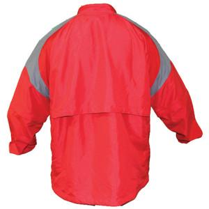 Batting Cage Jacket Long Sleeve Back