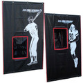 Batting Cage Backstop 4x6 Vinyl with 2-Sport Catcher
