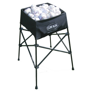 Jugs Back-Saver Portable Ball Basket Full
