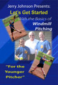 """The Basics of Windmill Pitching """"For the Younger Softball Pitcher"""" DVD"""