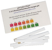 25 Kombucha pH Strips