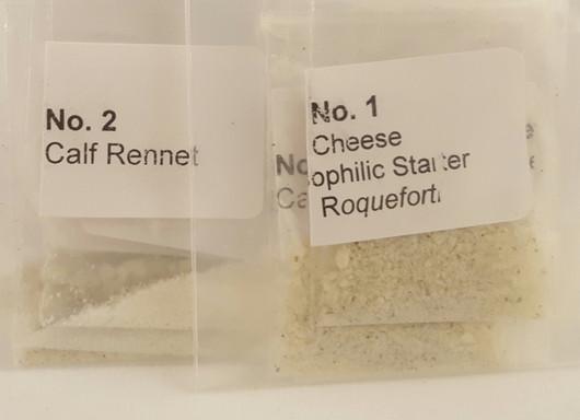 Blue Cheese Making Ingredients