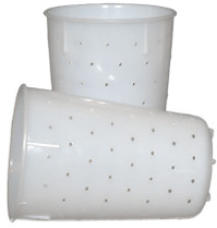Traditional Chèvre/Fromage Blanc Cheese Mould - Set of 2