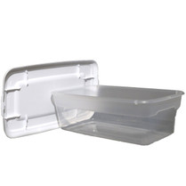 Plastic Aging Containers-Includes Draining Platform, and Two Bamboo Mats