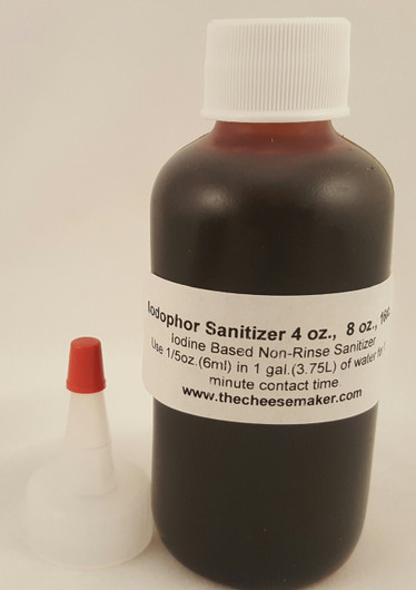 Iodophor No Rinse Dairy Certified Food Grade Sanitizer