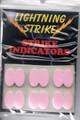 Lightning Strike Stick-on Indicators