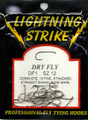 Lightning Strike Dry Fly Hook 25 count DF1