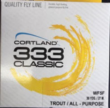 Cortland 333 Classic Trout/All Purpose Fly Line  No Loops on the ends