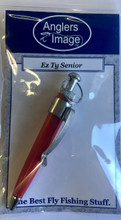 Ez Tye Senior holds the bigger flies