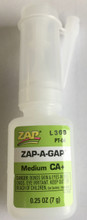 Zap-A-Gap 1/4 oz bottle Medium CA+