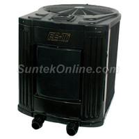 Jandy EE-Ti 112,000 BTU Heat Pump, 6.4 COP, 410A, 230V/60Hz/1 Phase, Heater, Titanium, Digital - EE2000T