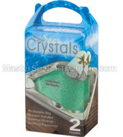 Cover Valet Spa Lime Basil Mandarin Crystals 2 lb