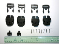 Spa Cover Locks - Set of 4 with Screws and Keys
