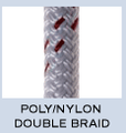 New England Poly/Nylon Double Braid, Polyester/Nylon