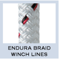 New England Endura Braid Winch Lines