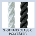 New England 3-Strand Classic Polyester