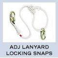 New England Adjustable lanyard locking snaps