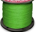 Hollow Braid Polypropylene Green
