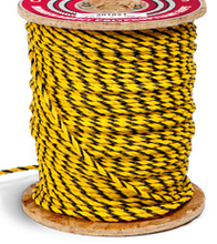 3 STrand Polyproyplene yellow/black