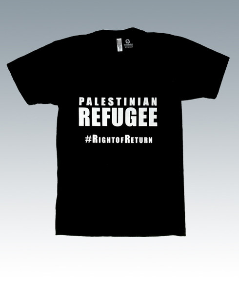 Palestinian Refugee T-Shirt (Front)
