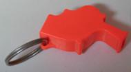 NOS - Storm Whistle - Orange