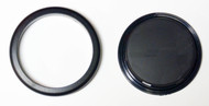 Replacement Cover and Ring for Oceanic/Aeris Regulators - Delta - Etc.