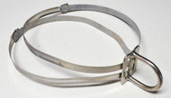 Used - XL Fixed D-ring and Hose Clamps