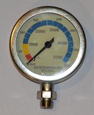 Sherwood Brass Pressure Gauge - Italian Made Quality
